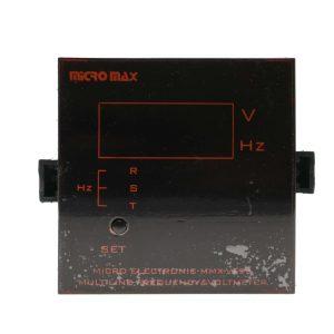ولت متر سه فاز و فرکانس متر MMX-VF96 میکرو مکس