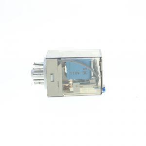 رله فیندر شیشه ای 110 ولت DC(دی سی) 11 پایه finder