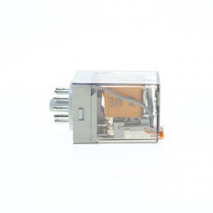رله شیشه ای 220 ولت AC(ای سی) 11 پایه گسیم GASIM