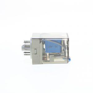 رله شیشه ای 24 ولت DC(دی سی) 11 پایه گسیم GASIM