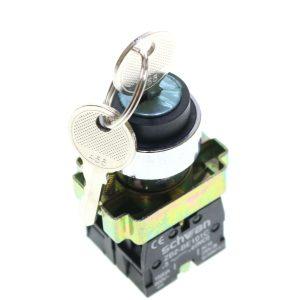 کلید فرمان دو طرفه(1-0-2)کلید دار(سوئیچ خور) شوانSchwan