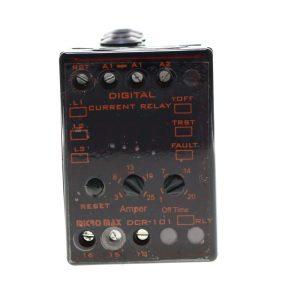 کنترل بار دیجیتال با تنظیم دستی 3تا25 آمپر DCR-101X میکرو مکس