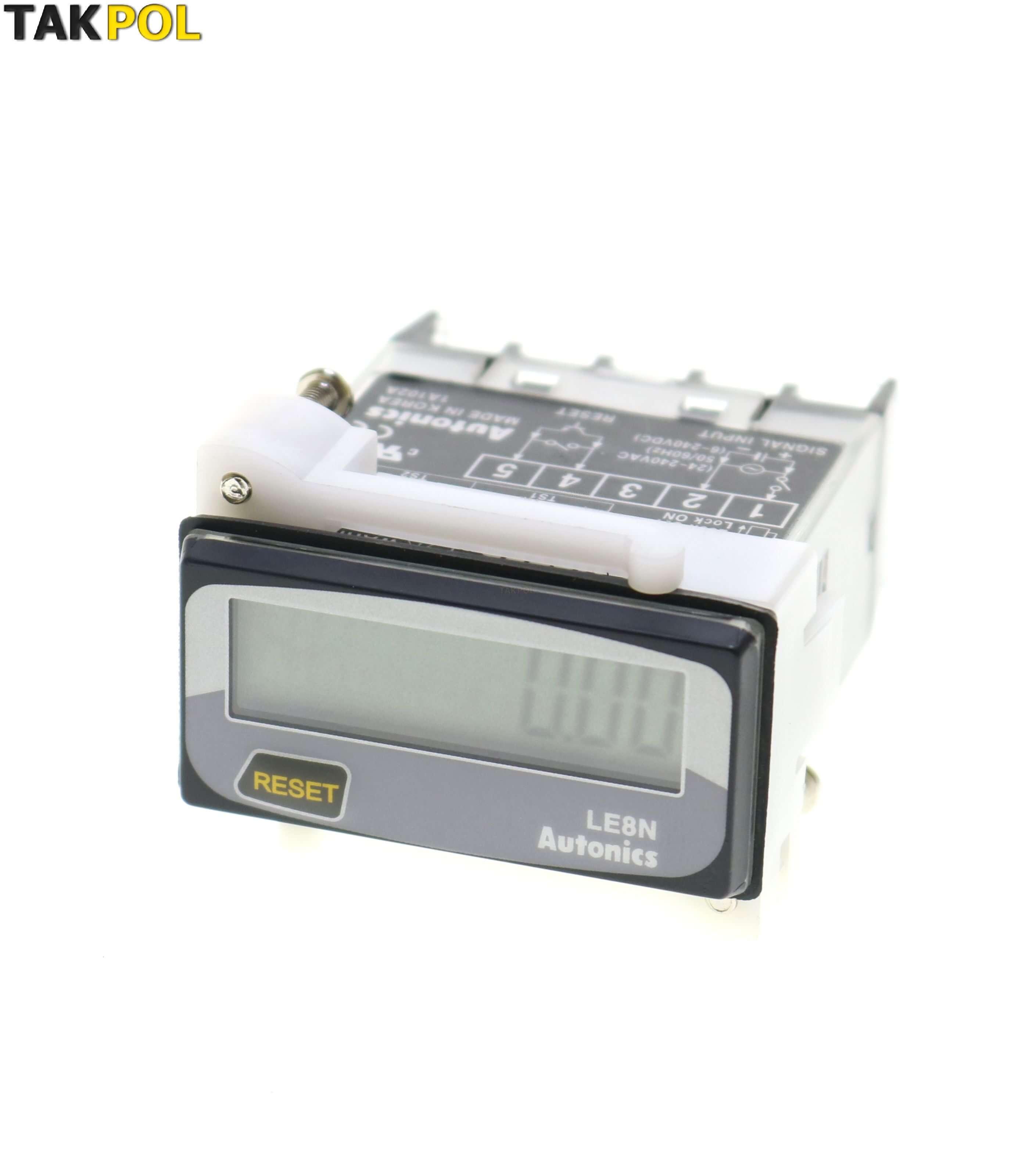ساعت کارآتونیکس(autonics) مدلLE8N-BF